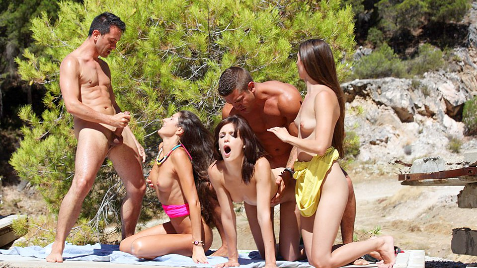 College sex partys on the beach